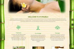 Ayurveda Hospital Website Mala Kerala
