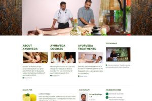 Ayurveda training Website kerala