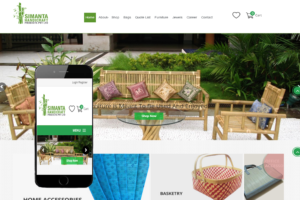 Ecommerce Furniture Wesite Tripura